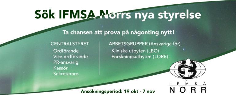 Sök IFMSA Norrs styrelse