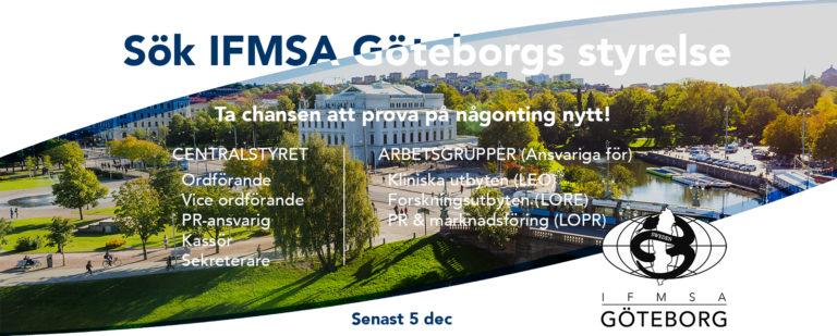 Sök till IFMSA Göteborgs nya styrelse