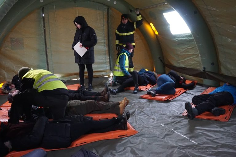 Från katastrofmedicinhelgen i Umeå