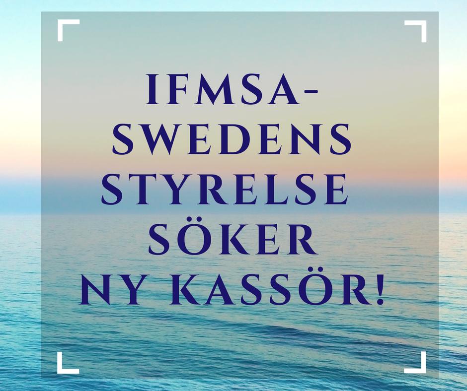 IFMSA Sweden söker ny nationell kassör