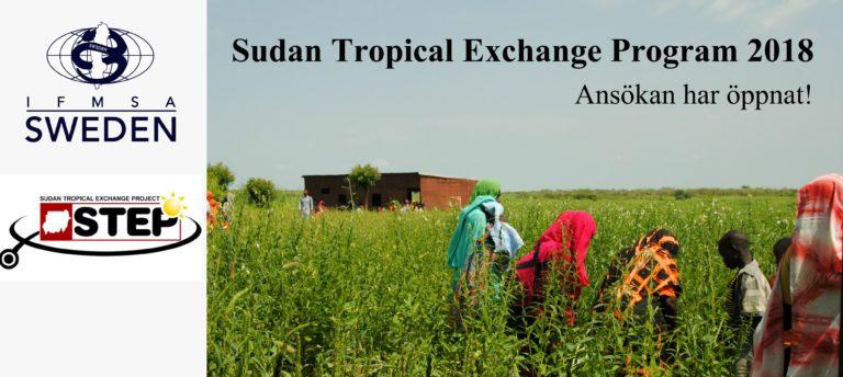 Sök till STEP: Tropikmedicin i Sudan!