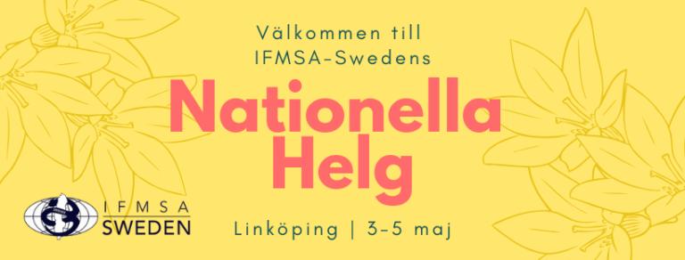 Nationell Helg i Linköping, 3-5 maj
