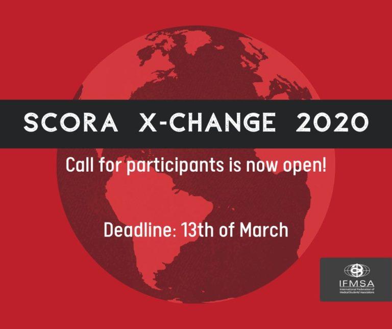 Sök till ett SCORA X-Change sommaren 2020!