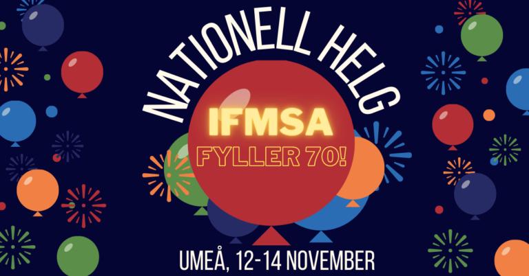 Nationell helg i Umeå, 12-14 november